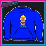 KEITH LEMON CARTOON POTATO FUNNY HOODIE  5005